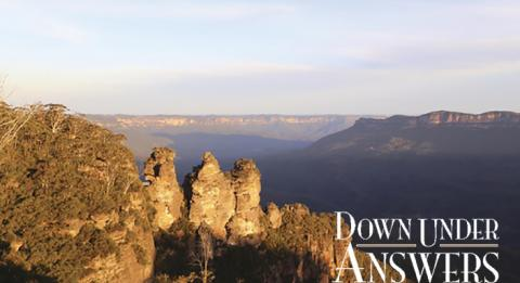 Three Sisters at Echo Point in Katoomba, Blue Mountains