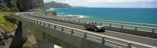 Sea Cliff Bridge, Sydney to Melbourne drive